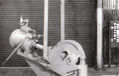 30 ton Pneumatic Rivetter, O/No. 4020, c.1952