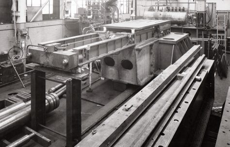 3000 ton Forging Press, views taken at erection and later on site, O/No. 6810, c.1951