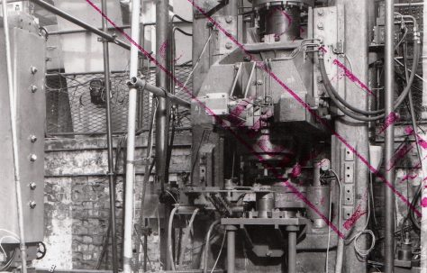 250 ton Vertical Extrusion Press, O/No. 3420, c.1951
