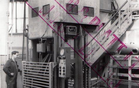 150 ton Blanking Press, O/No. 3250, c.1951