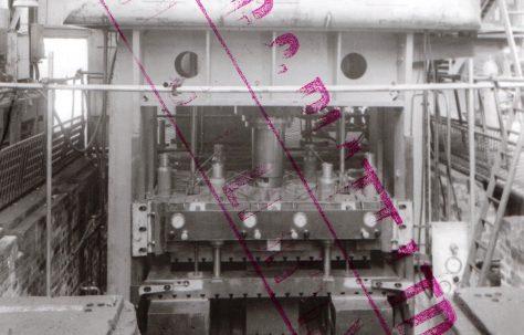 250 ton Blanking Press, views taken at erection and on site, O/No. 3380, c.1951