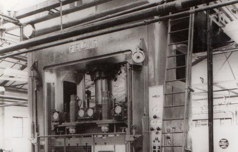 300 ton Treble Action Drawing Press, O/No. 3230, c.1951