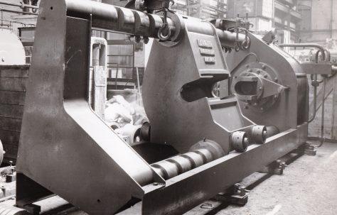 500 ton Wheel Press, O/No. 4080, c.1953