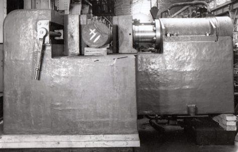 300 ton Bending & Straightening Press, O/No. 4260, c.1952