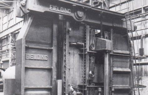 3000 ton Vertical Plate Bender, O/No. 4756, c.1953