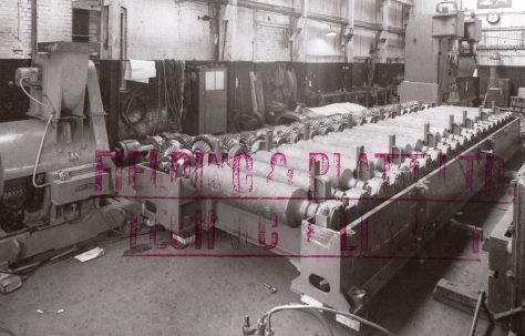 "Assembly of a 24"" Approach Roll Table, O/No. 5150, c.1954"