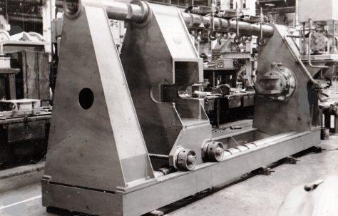 150 ton Wheel Press, O/No. 6250, c.1955