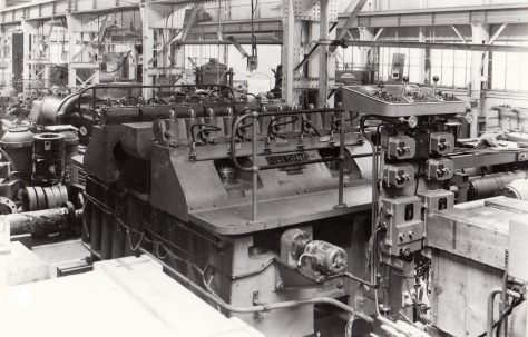 280 ton Stretching and Forming Press, O/No. 5670, c.1954