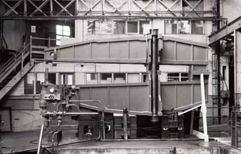 100, 60, 40 ton Rivetter with 12' Gap, O/No. 5870, c.1954