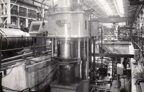 3 - 600 ton Forging Presses, O/No. 5440, c.1955