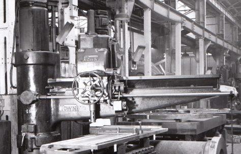 A 'Town' Pillar Drilling Machine, c.1954