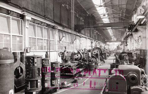 Photographs of Hydraulic No.1 Heavy Machine Shop