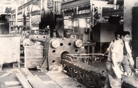 1000 ton Horizontal Extrusion Press, O/No. 5090, c.1953