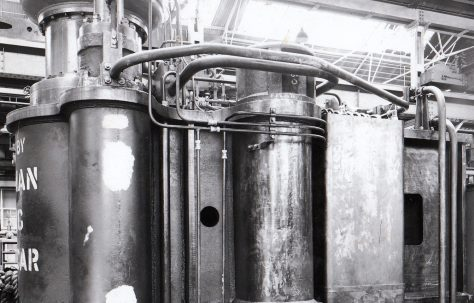 800 ton Forging Press, O/No. 5460, c.1956