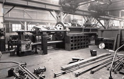 500 ton Horizontal 'Hypactor' Extrusion Press, O/No. 6370, c.1955