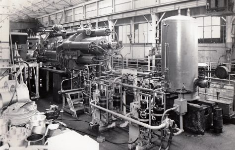 650 ton Horizontal Extrusion Press, O/No. 6310, c.1955
