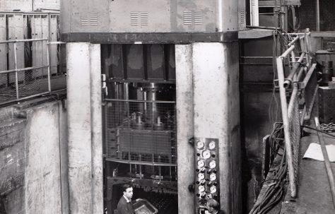 400 ton Deep Drawing Press, O/No. 6060, c.1956