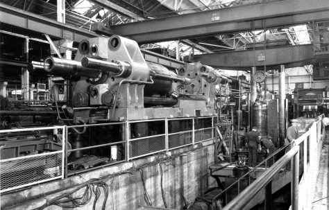 2000/500 ton Horizontal Extrusion Press, O/No. 5130, c.1953