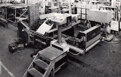 """11"""" Cube Triple Compression Scrap Baler, O/No. 59270, c.1959"""