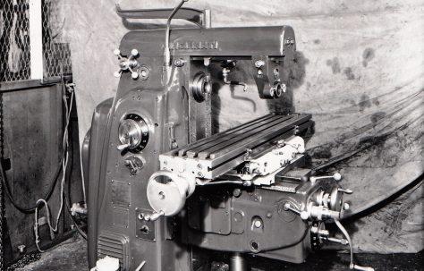 Horizontal Milling Machine (Cincinatti), c.1959