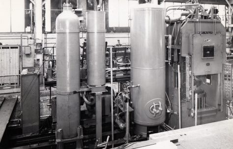 600 ton Cold Forming Press, O/No. 59020, c.1960
