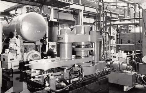 100 ton Two-Station Anchovy Press, O/No. 59620, c.1960
