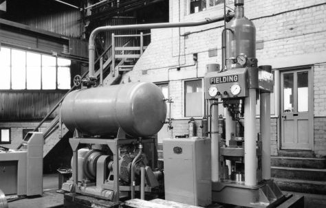 350 ton Vertical Extrusion Press, O/No. 59220, c.1959