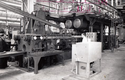 1000 ton Horizontal Extrusion Press, O/No. 59160, c.1959