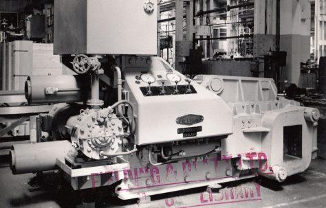 """12"""" Cube Scrap Baler, O/No. 59740, c.1959"""