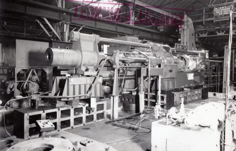 750 ton Direct Pumping Extrusion Press, O/No. 60280, c.1960
