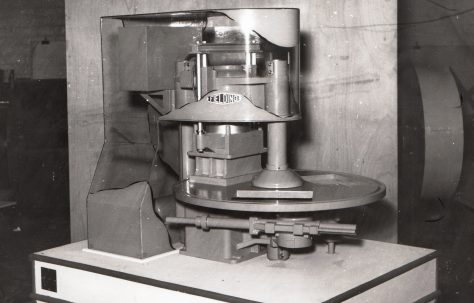 Model of a Three Mould Slab Press for Stockholm Exhibition, c.1960