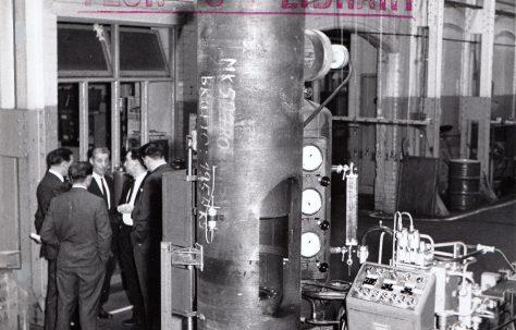 350 ton Tubular Cold Forming Press, O/No. 59780, c.1960