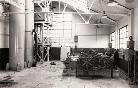 H3 Pump and Accumulator installation, views taken on site, O/No. 58270, c.1959