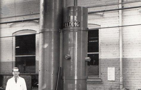 15 Gallon Nitrogen/Oil Piston Accumulator, O/No. 63360, c.1964