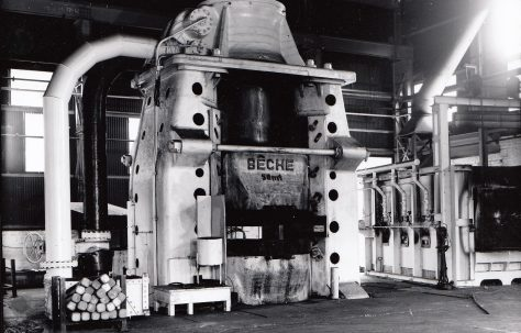 Bêché Type DGH50H Counterblow Hammer, O/No. 59300, c.1959