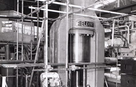 1450 ton 'Serck' Type Vertical Extrusion Press, O/No. 61280, c.1962