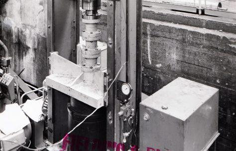 250 ton Downstroking Testing Press, O/No. 61510, c.1961