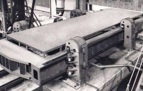 200 ton Furnace Pusher, view taken on site, O/No. 56060, c.1956