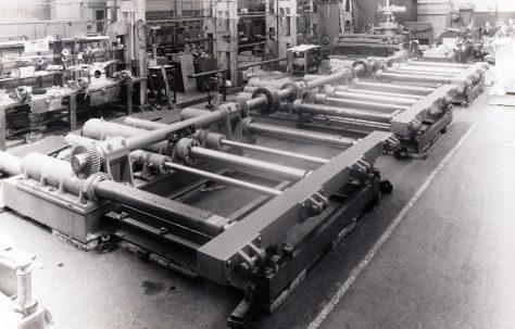 120 ton combined Furnace Pusher, O/No. 61330, c.1961