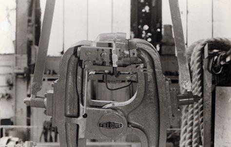 20 ton Hinged-Type Portable Rivetter,  O/No. 58240, c.1957