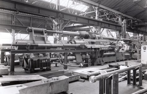 1500 ton Horizontal Tube Extrusion Press, O/No. 60360, c.1961