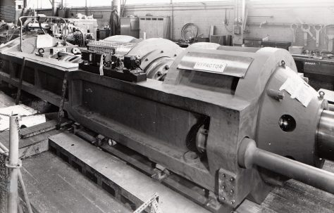 500 ton Horizontal 'HYPACTOR' Extrusion Press, O/No. 60350, c.1961