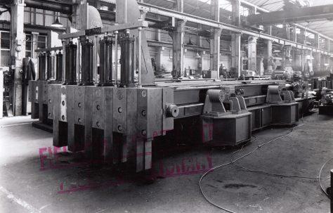 170 ton Furnace Pusher, O/No. 62050, c.1962