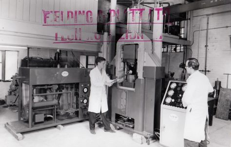 620D 'Dynapak' High Energy Rate Forming Machine, c.1963, 1967 & 1969