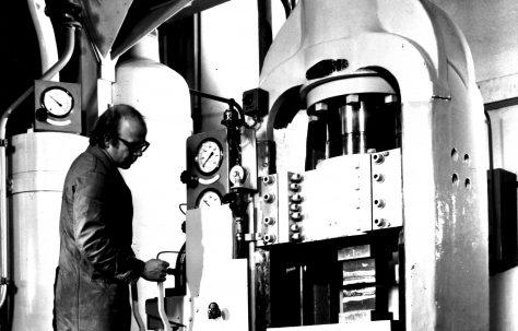 200 ton Laboratory Extrusion Press, O/No. E89800, c.1975