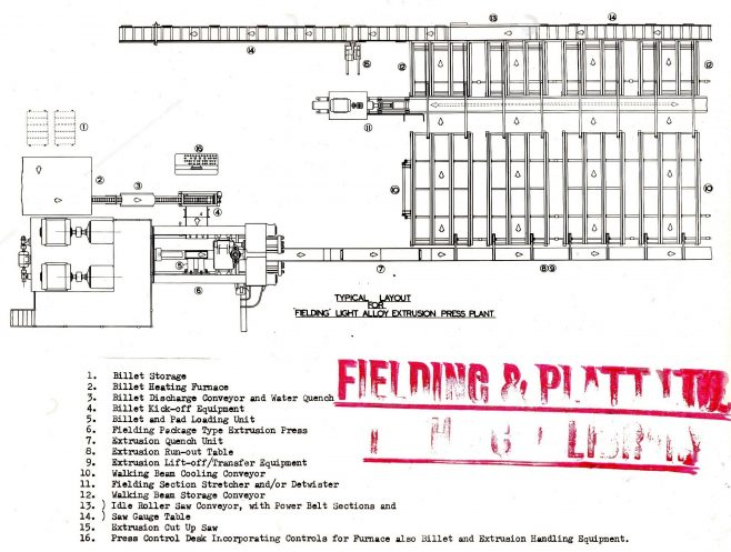 Typical Plant Layout D7338/14/10/5948 | Gloucestershire Archives