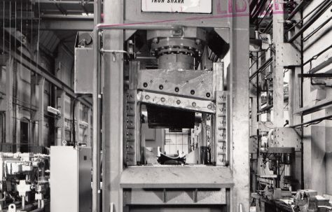 300 ton Fielding/Richards Iron Shark Shear, O/No. 63730, c.1964
