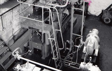 600 ton 'Fittings' Press, O/No. 63440, c.1963
