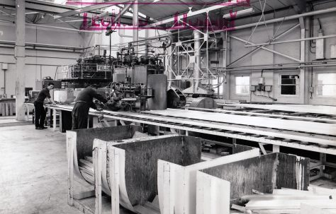 1300 ton Package-type Extrusion Press, views taken on site, O/No. 63510, c.1964