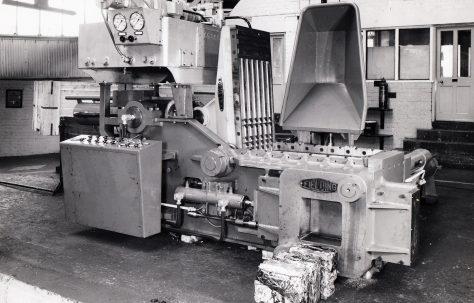 """12"""" Heavy Duty Cube Baler, O/No. 64280, c.1964"""